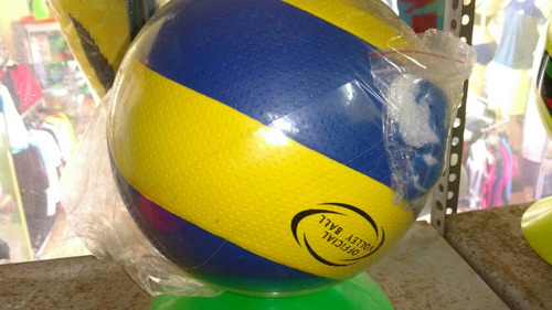 pelota de goma voley fútbol