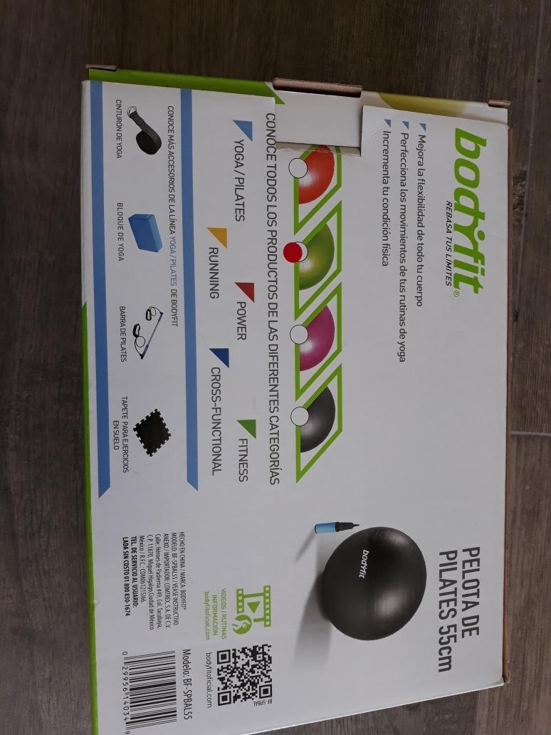 Pelota De Pilates 55 Cm Bodyfit Con Bomba -   230.00 en Mercado Libre dd323e0a8cb2