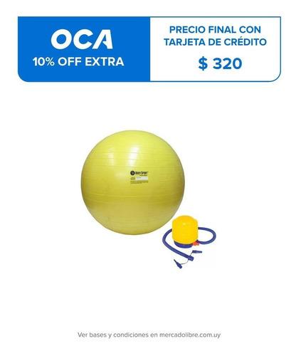 pelota de pilates fitness 65 cm yoga con inflador