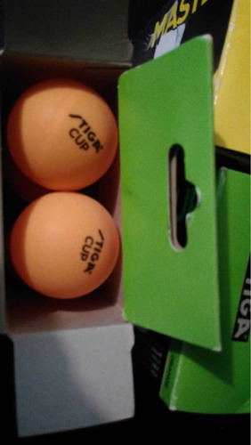 pelota de ping pong stiga