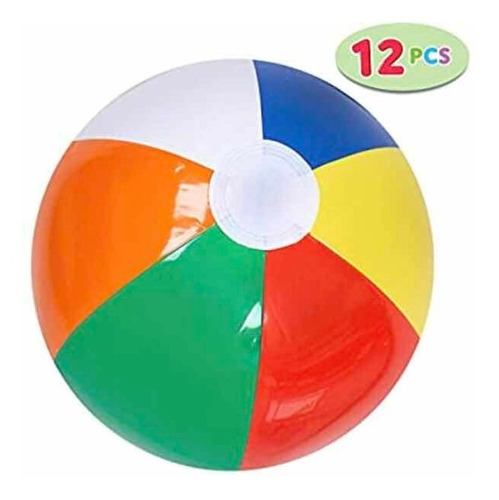 pelota de playa inflable
