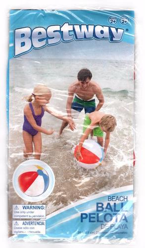 pelota de playa multicolor 51 cm