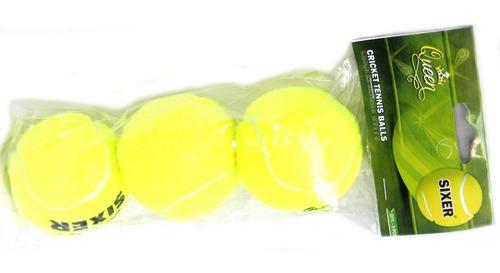 pelota de tenis queen sixer pack x3 planeta juguete