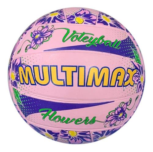 pelota de voley multimax de goma por docena