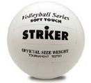 pelota de voley pvc soft striker blanca rota deportes art 4080 rota deportes