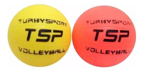 pelota de voley turby reglamentaria de goma inflable niños