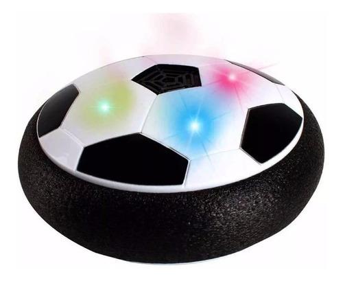 pelota disco de futbol con luz led y musical