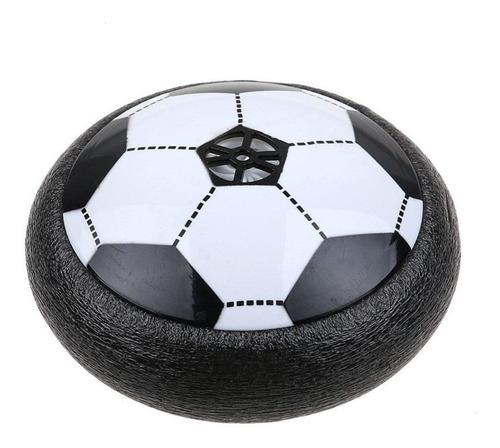 pelota disco de futbol con luz led y musical para niños