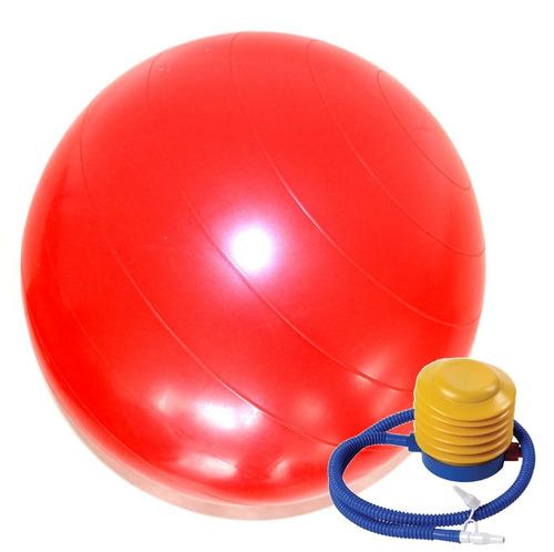 pelota esferodinamia 85cm + inflador  antideslizante pil k15