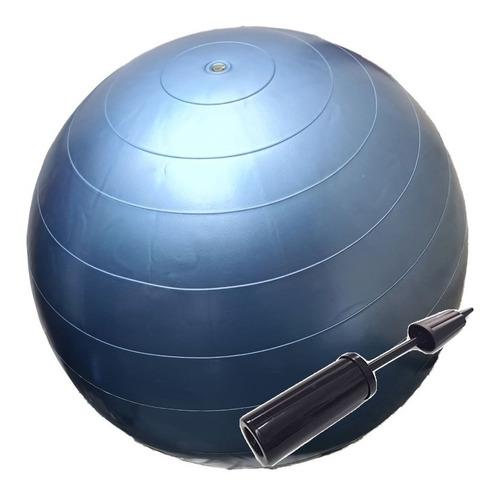 pelota esferodinamia pilates 65 cm yoga + inflador nacional