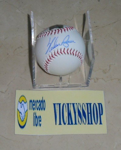 pelota firmada por nolan ryan con certificado astros mets