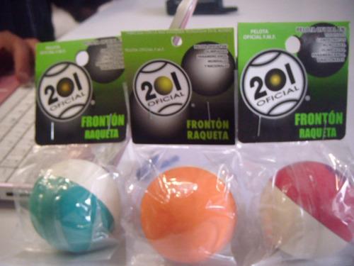 pelota frontenis 201 combinada