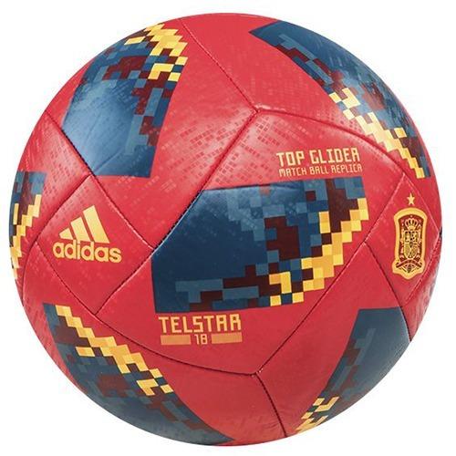 b644b5fc39711 Pelota Futbol adidas Telstar 18 España Top Gl Nro 5   Ce9973 ...