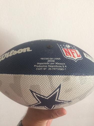 pelota fútbol americano dallas cowboys -wilson