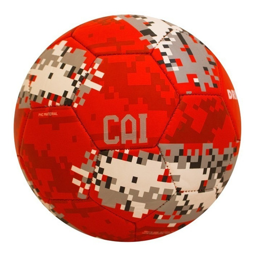 pelota fútbol independiente rojo drb - nro.5 - licencia oficial