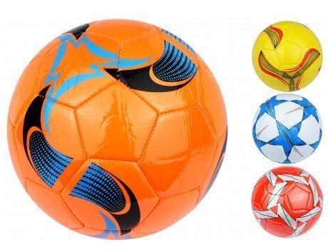 pelota futbol n°5 cuero 20cm dif colores