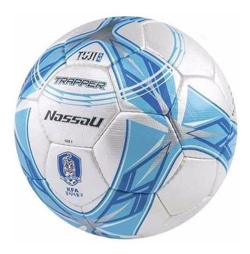 pelota futbol nassau tuji trapper profesional cosida n° 5 cesped natural pro