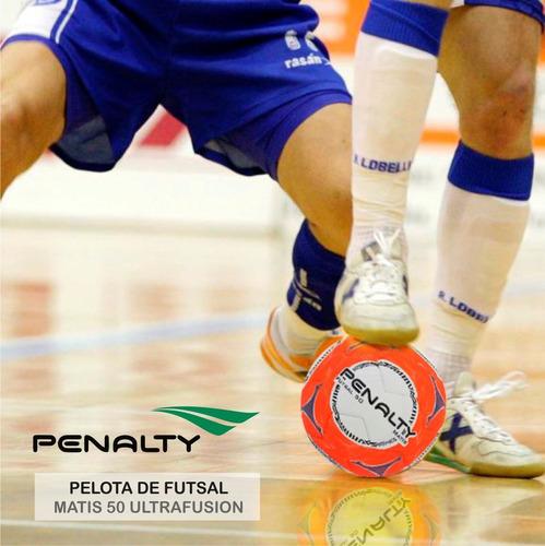 pelota futsal 50 penalty matis ultra/fusion