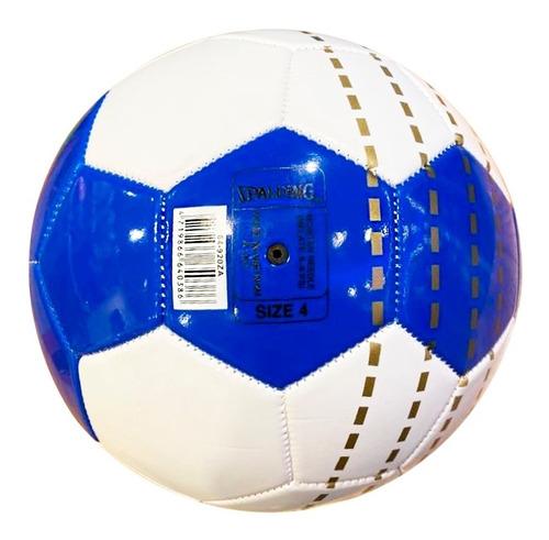 pelota futsal futbol sala medio pique n° 4 spalding