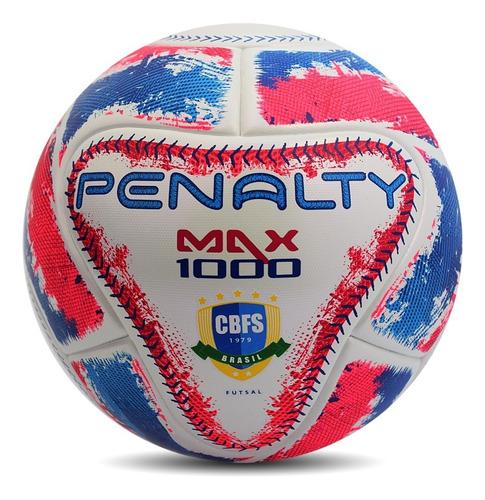 pelota fútsal n°4 penalty medio pique mod. max 1000 ix