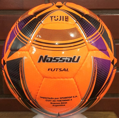 pelota futsal nassau n° 4 tuji