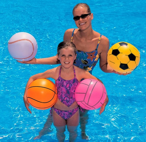 pelota inflable  bestway 31004 voleibol 41cm diametr