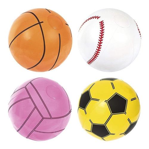 pelota inflable bestway 41 cm deportes pileta playa verano