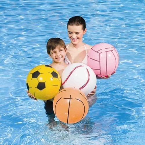 pelota inflable bestway 51 cm para pileta agua playa verano