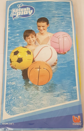 pelota inflable bestway sports - muy barata la golosineria