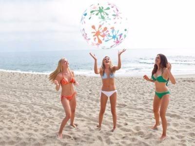 pelota inflable gigante intex 122cm 59070 para piscina playa