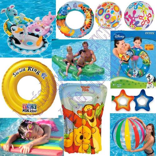 pelota inflable playa piscina niños intex 59040 51cm diametr