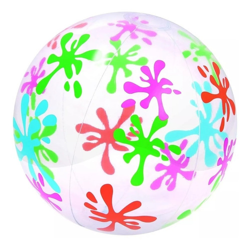 pelota inflable playera fashion playa grande 61 cm bestway