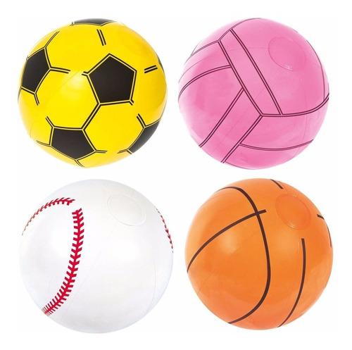 pelota inflable sport beach bestway 31004 niños babymovil