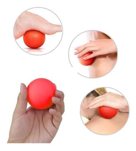 pelota lacrosse masajeadora de estimulacion proyec
