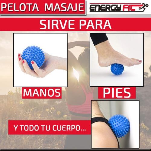 pelota masajes pilates pie manos cuerpo maciza 7 cm pinches