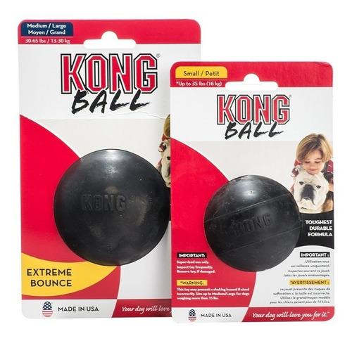 pelota mascota extra dura - kong ball extreme enviogratis