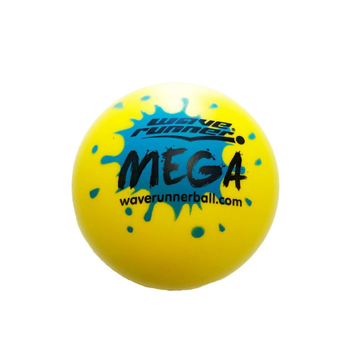 pelota mega ball waverunner ball amarilla