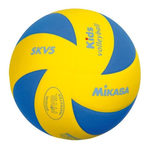 pelota mikasa voley infantil niños niñas fivb skv5 volley
