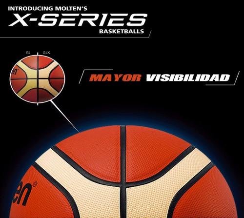 pelota molten gg6x basket basquet oficial fiba original
