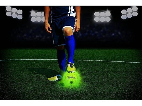pelota n5 night ball soccer tangle luminosa original tv