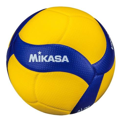 pelota oficial balón de voley mikasa v200w original fivb