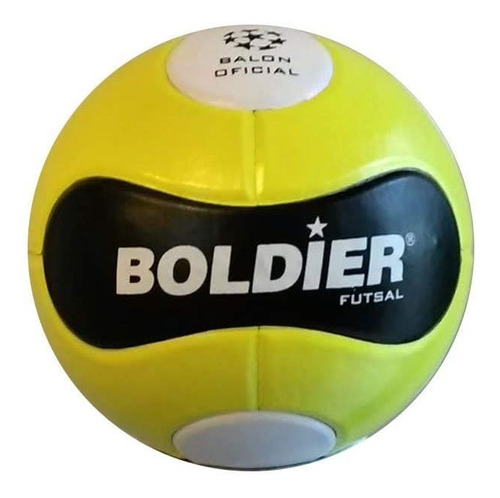pelota papi futbol 5 futsal boldier medio pique sala nº 4
