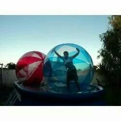 pelota para caminar en el agua, water ball