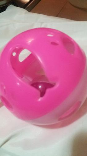 pelota para gato con cascabel