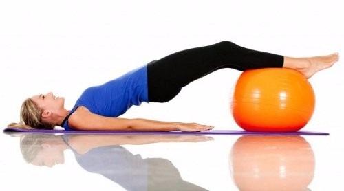 Pelota Para Pilates Antiestallido. Fitness 40e8ff0d732a
