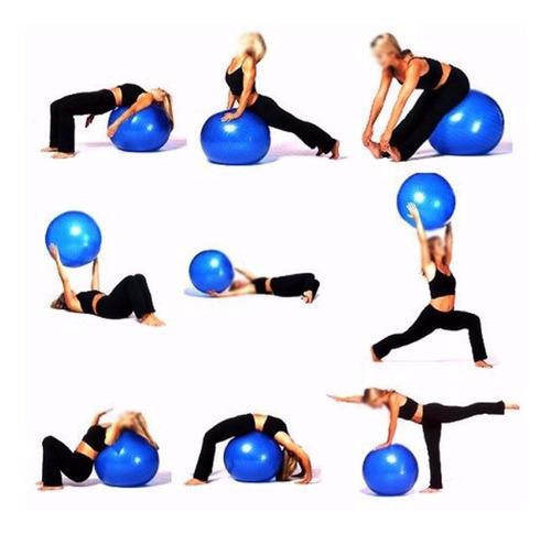 pelota pilates 65cm anti-burst /gimnasio/terapéuticas