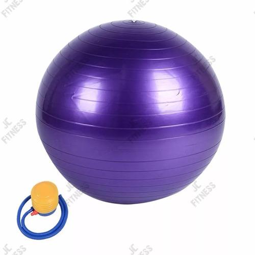 pelota pilates 75cm + inflador- boleta