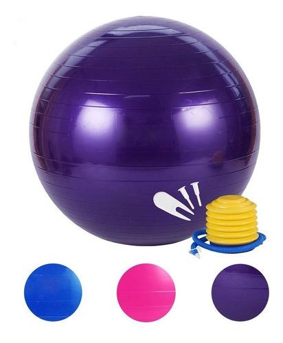 pelota pilates gimnasio pilates terapéuticas 75cm + inflador