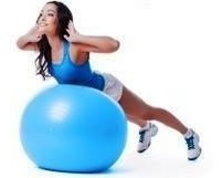 pelota pilates medicinal 65 cm antideslizante ¡la mejor!
