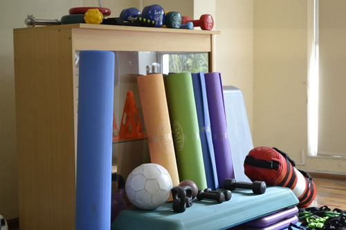 pelota pilates yoga